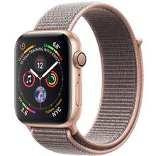 Apple Watch 4 GPS 40mm Gold  Aluminum Case With Pink Sand Sport Loop Band